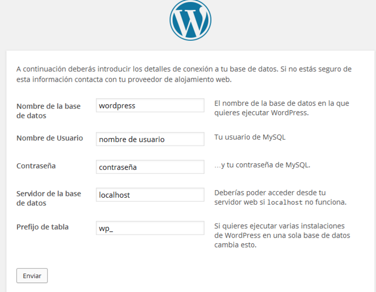 Instalar WordPress de forma local